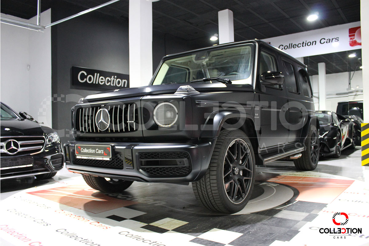 Mercedes Benz G 63 AMG driver´s package