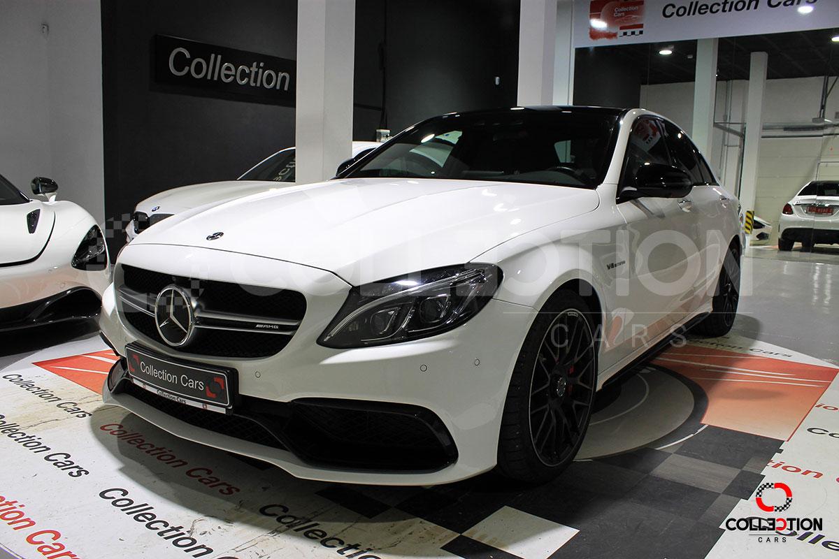 Mercedes Benz C63 S Speedshift